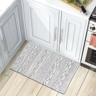 Link to Distressed Boho Anti Fatigue Standing Mat Similar Items in Casual Rugs