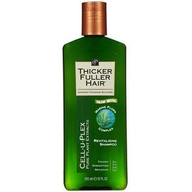 Thicker Fuller Hair Revitalizing Shampoo, 12 oz