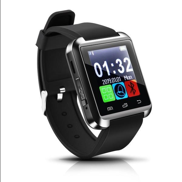 5f2acab94 AGPtek Black U8 Bluetooth Smart Wrist Watch Phone Mate for Android Samsung  HTC LG (MTK