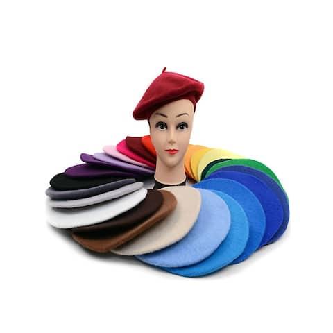 Women's Wool Solid Colors Beret