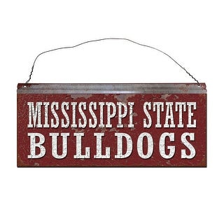 Mississippi State University Bulldogs Small Tin Sign