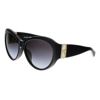 Michael Kors MK2002BF PARIS 300511 Black Oval Sunglasses