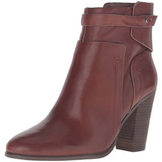 Vince Camuto Womens Faythe Leather Closed Toe Ankle Fashion Boots