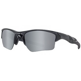 Oakley Half Jacket 2.0 XL OO9154-05 Polished Black Polarized Iridium Sunglasses - 62mm-15mm-133mm
