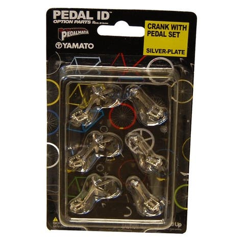 Pedal Id Crank With Pedal Set Silver-Plate - Multi