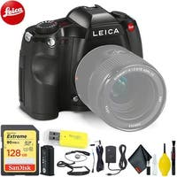 Leica S (Typ 006) DSLR Medium Format Camera with 128 GB Memory Card