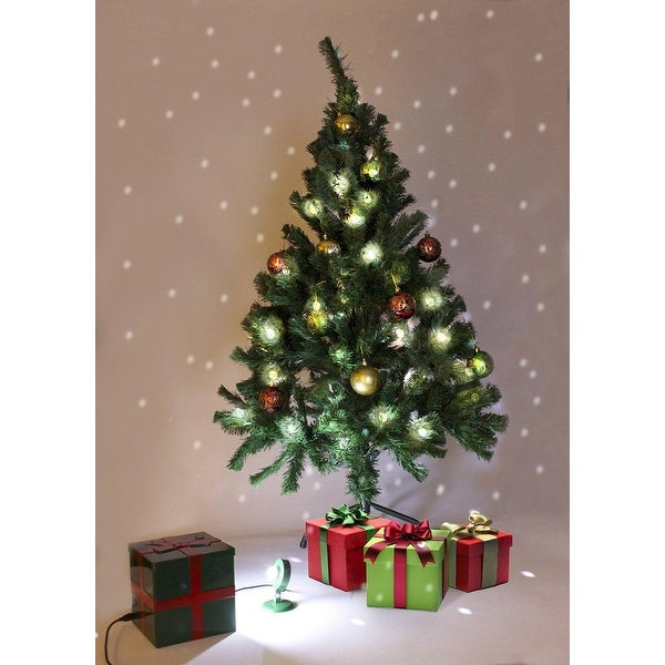 Magical White Falling Snow Christmas Tree Light Flurries System