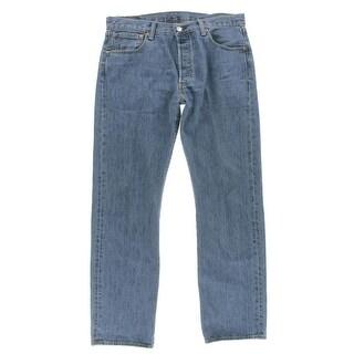 Levi's Mens 501 Denim Stonewash Jeans - 29/32