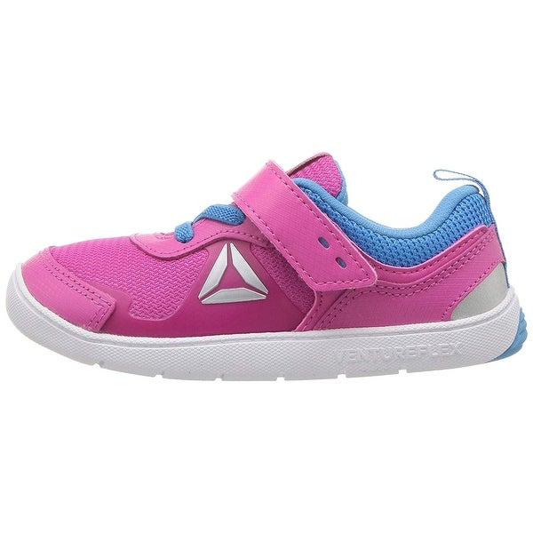 a4fd667ae63d NEW Toddler Girls Reebok Venture Flex Ventureflex Stride 5.0 Shoes Purple 6  7