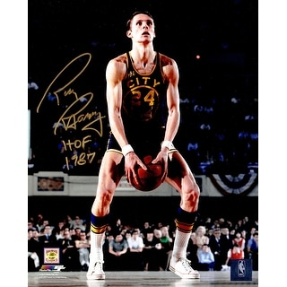 Rick Barry Golden State Warriors Under Hand Free Throw 8x10 Photo wHOF 1987