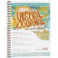 """34 Sheets - Strathmore Visual Journal Watercolor 9""""X12"""""""