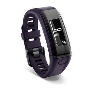 Refurbished Garmin vivosmart HR Standard Purple vivosmart HR Black