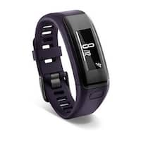 Refurbished Garmin vivosmart HR Standard Purple vivosmart HR Black