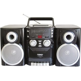 Naxa NPB426 Naxa NPB-426 Mini Hi-Fi System - 16 W RMS - iPod Supported - Black - CD Player, Cassette Recorder - AM, FM - 2|https://ak1.ostkcdn.com/images/products/is/images/direct/db2dccf1dafc4f5ca4cc0a36750dce50df113ceb/Naxa-NPB426-Naxa-NPB-426-Mini-Hi-Fi-System---16-W-RMS---iPod-Supported---Black---CD-Player%2C-Cassette-Recorder---AM%2C-FM---2.jpg?impolicy=medium