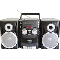 """Naxa NPB426 Naxa NPB-426 Mini Hi-Fi System - 16 W RMS - iPod Supported - Black - CD Player, Cassette Recorder - AM, FM - 2"