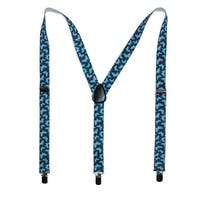 Parquet Women's Elastic Butterfly Print Novelty Suspender - One size