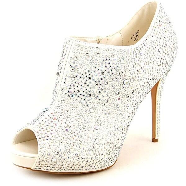 76a2446e1c Shop Lauren Lorraine Etro Women Open Toe Synthetic White Platform ...