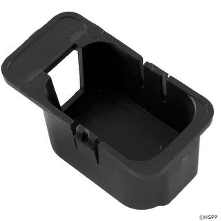 Keying Enclosure, HC-Blank-Black, Black Key Plug
