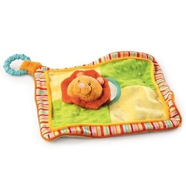 Russ Baby Babies Love to Learn Lion Activity Blanket