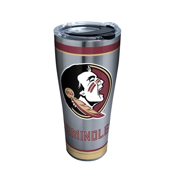 NCAA Florida State Seminoles 20oz Plastic Infuser Sport Bottle