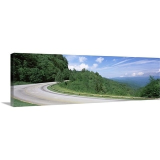 """""""Newfound Gap road, Great Smoky Mountains National Park, Tennessee"""" Canvas Wall Art"""