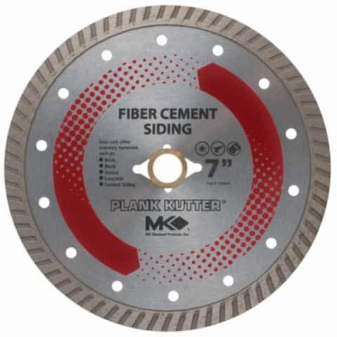 "MK Diamond 156994 Plank Kutter Fiber Cement Siding Dry-Cut Diamond Blade, 7"""