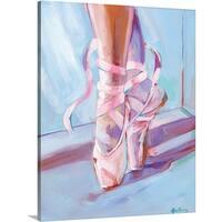 Anne Seay Premium Thick-Wrap Canvas entitled Ballet Shoes