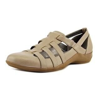 Life Stride Maintain  W Round Toe Leather  Walking Shoe