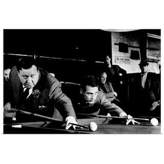 """""""The Hustler (1961)"""" Poster Print"""