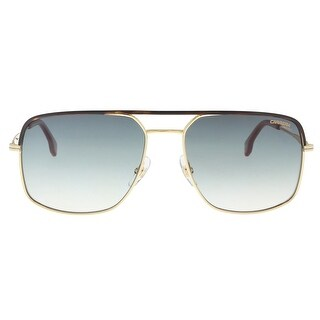 Carrera CARRERA 152/S 0RHL-9K Gold Black Rectangle Sunglasses - 60-17-145