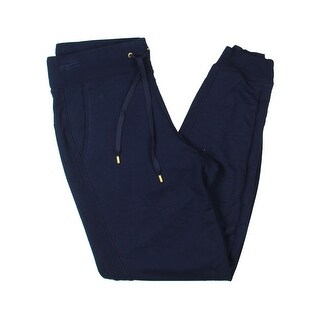 Lauren Ralph Lauren Womens Izabate Lounge Pants Cuffed Ribbed Trim