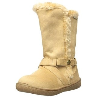 Western Chief Girls Maggie Casual Boots Faux Fur Microfiber