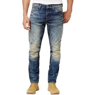 G-Star Raw 3D Tapered Dark Aged Blue Rico Denim Jeans