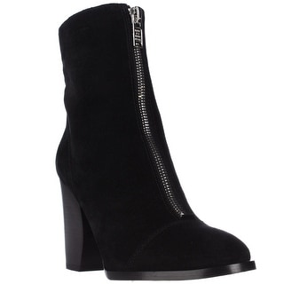 Marc by Marc Jacobs Jackson Half Moon Shearling Lined Booties - Black