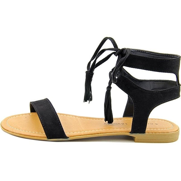 Chinese Laundry Womens reck Open Toe Casual Slide Sandals