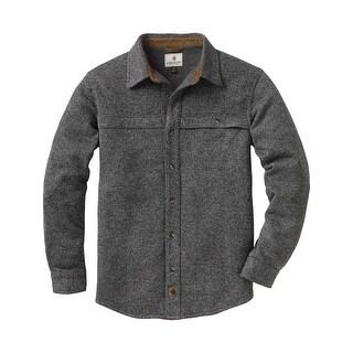 Legendary Whitetails Men's Silent Hide Sweater Fleece Button Down