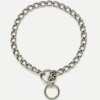 "Titan 05530-A-G3022 Chain Training Dog Collar, 3.0 mm x 22"", Chrome"