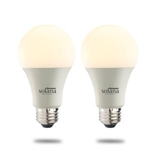 Link to Bulbrite Solana Smart LED A19 60W Equivalent Tunable WIFI Light Bulb, Frost, 2PK - 2200K-6500K Similar Items in Light Bulbs