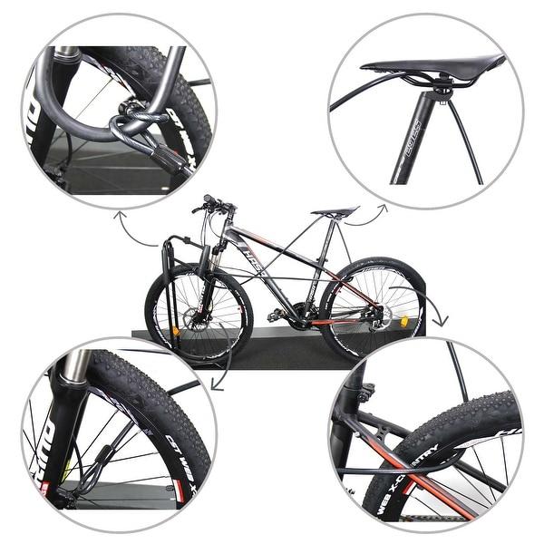 Lock Cable 10x2300mm Bicycle Bike Cycling U Lock with Key 170x335mm