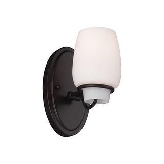 Feiss VS40001-ORB 1-Light Vanity Strip Light Fixture Oil Rubbed Bronze Finish