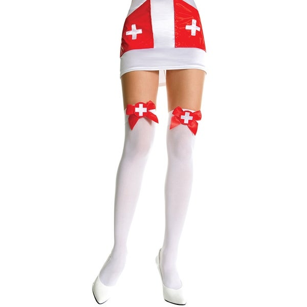 bd22b602346 Shop Nurse Costume Thigh Highs