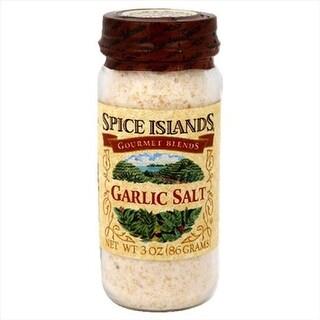SPICE ISLAND GARLIC SALT-3 OZ -Pack of 3