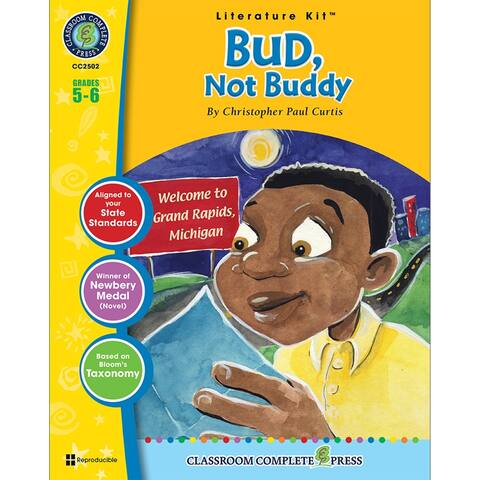 (3 Ea) Bud Not Buddy Literature Kit