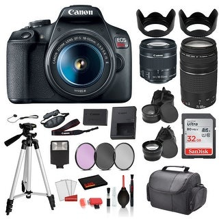 Link to Canon EOS Rebel T7 Digital SLR Camera with 18-55mm Lens and EF Similar Items in Digital Cameras