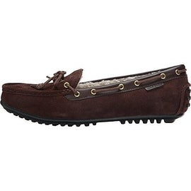 Cole Haan Womens Grant Suede Round Toe Moccasins