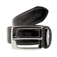 Renato Balestra W150 Black Smooth Leather Mens Belt