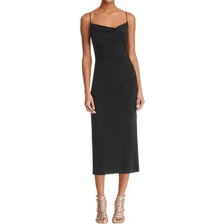 Laundry by Shelli Segal Womens Evening Dress Ruched Sheath