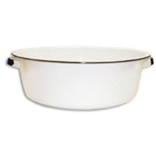 Columbian Home F6416-4 White Dish Pan - 15 Quart