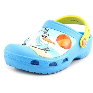 Crocs Creative Crocs Olaf Clog Round Toe Synthetic Clogs