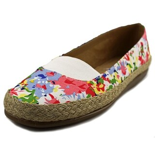 Aerosoles Counsoler Women Round Toe Canvas Multi Color Espadrille
